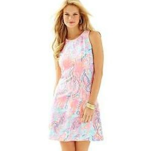 EUC Lilly Pulitzer Felicity Fit and Flare Dress